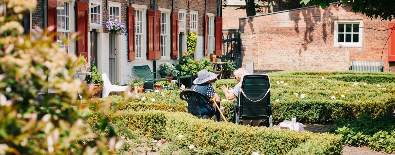 Five ways to ensure you can keep enjoying your garden in later life